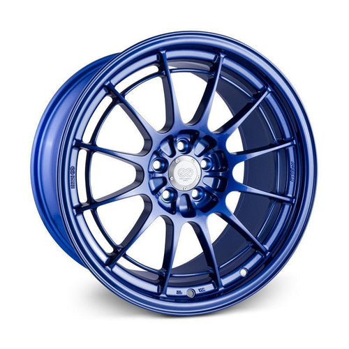 Enkei NT03+M 18x9.5 / 5x114.3 / 40mm Offset - Victory Blue Wheel