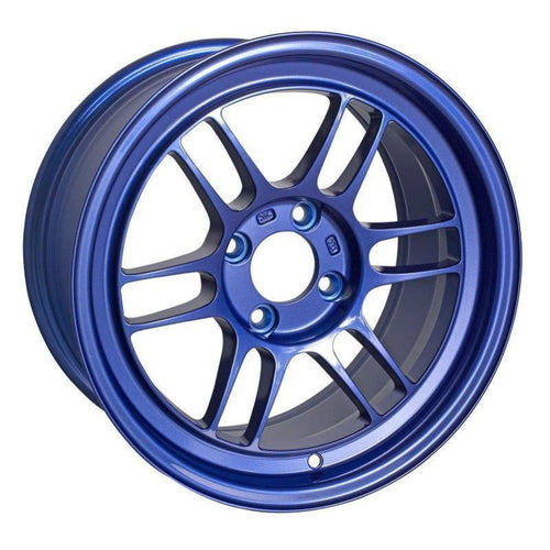 Enkei RPF1 15x8 / 4x100 / 28mm Offset - Victory Blue Wheel