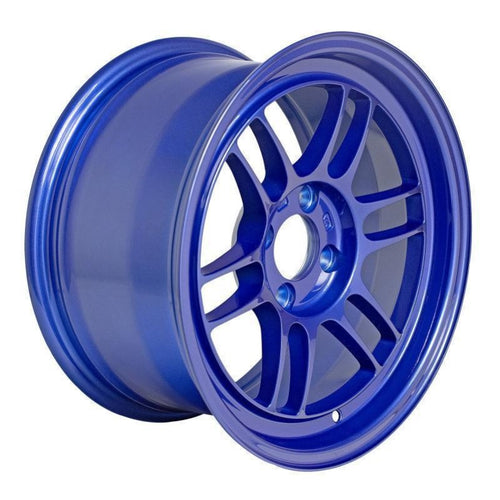 Enkei RPF1 17x9/ 5x100 / 35mm Offset - Victory Blue Wheel