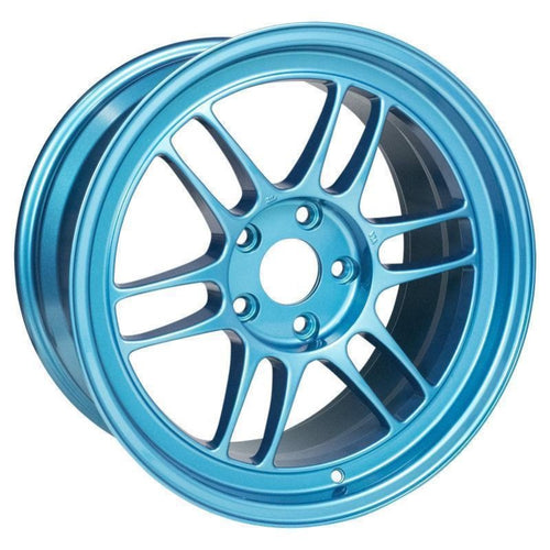 Enkei RPF1 18x9.5 / 5x114.3 / 38mm Offset - Emerald Blue Wheel