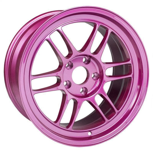 Enkei RPF1 18x9.5 / 5x114.3 / 38mm Offset - Magenta Pink / Purple Wheel