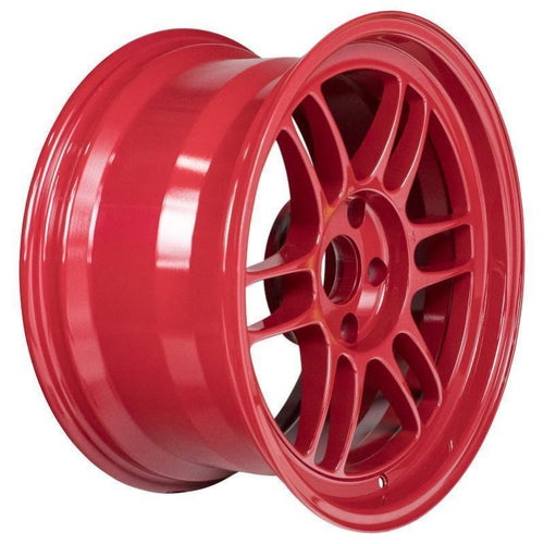 Enkei RPF1 17x9/ 5x114.3 / 22mm Offset - Competition Red Wheel