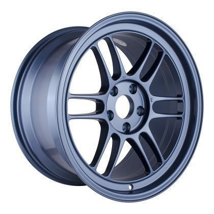 Enkei RPF1 18x9.5 / 5x114.3 / 38mm Offset - Matte Blue Wheel