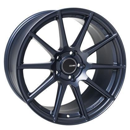 Enkei TS10 18x9.5 / 5x114.3 / 35mm Offset - Matte Blue Wheel