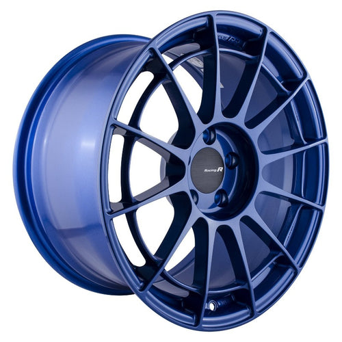 Enkei NT03RR 18x9.5 / 5x114.3 / 40mm Offset - Victory Blue Wheel