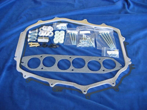 "Motordyne Engineering ISO Thermal 1/2"" Plenum Spacer - Nissan 350z / Infiniti G35 VQ35DE"