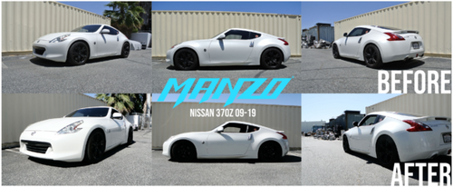 Manzo MZ Series True Rear Adjustable Coilovers - Nissan Z34 370z (2009-2020)