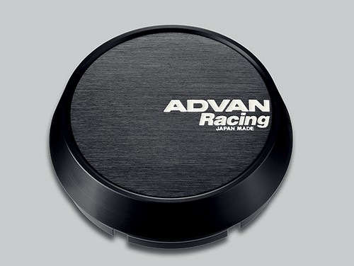 Advan Racing Center Cap - 73MM Bore - Middle / Medium Type - Black