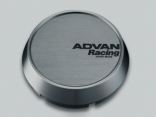 Advan Racing Center Cap - 73MM Bore - Middle / Medium Type - Hyper Black