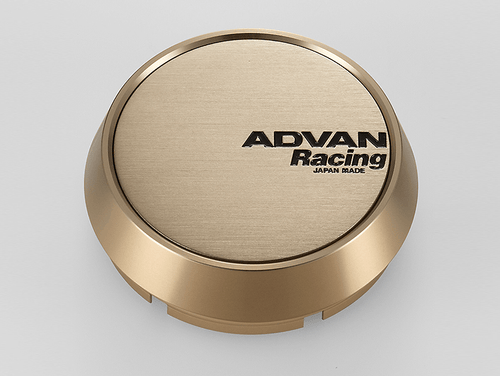 Advan Racing Center Cap - 73MM Bore - Middle / Medium Type - Bronze Alumite