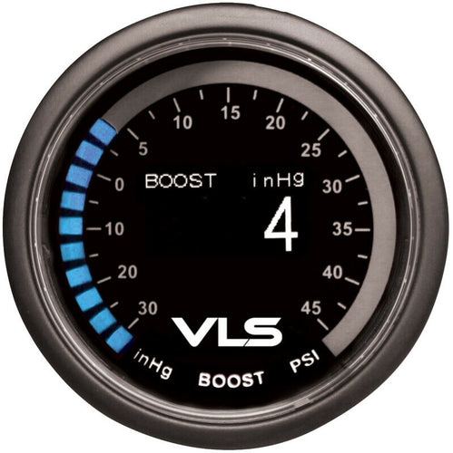 Tanabe Revel VLS 52mm OLED 30inHG -45PSI Turbo Boost Gauge