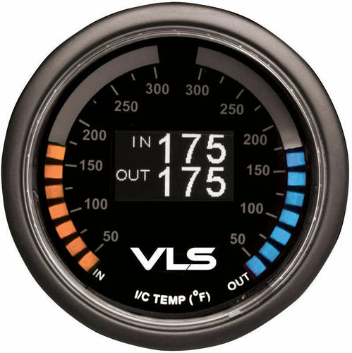 Tanabe Revel VLS 52mm Digital OLED 50-300 DegreesºF Dual Intercooler Temperature Gauge