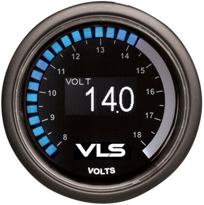 Tanabe Revel VLS 52mm Digital OLED Voltage Gauge