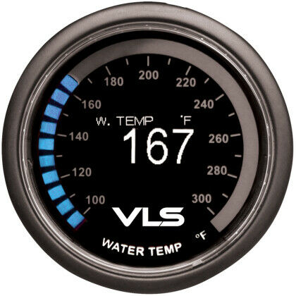 Tanabe Revel VLS 52mm OLED Water Coolant Temperature Gauge 100~300F