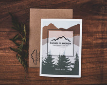 Load image into Gallery viewer, Mountain Wedding Invitation