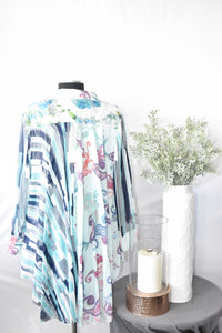Minkas Multi Patterned Blouse