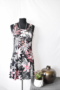 Tango Mango Palm Leaves Summer Dress