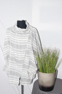 Shalmar Stripe Shrug
