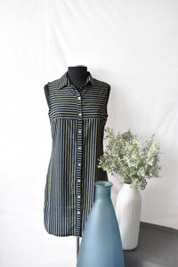 Oxygen Navy Stripped Summer Dress/Tunic