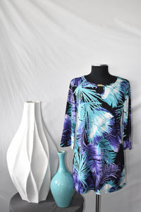 Creation Purple-Teal Top