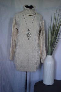 Papillon Cable Knit Tunic