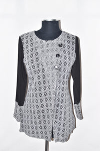 Variations Black And White Tunic