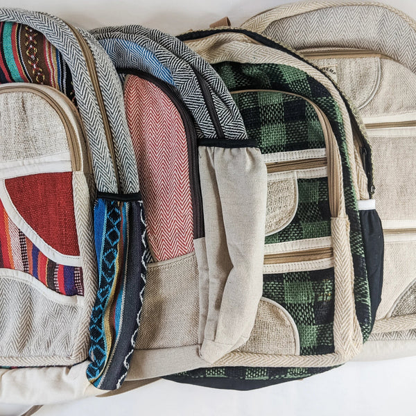 Why Buy from Nepal: Cotton Backpack Australia