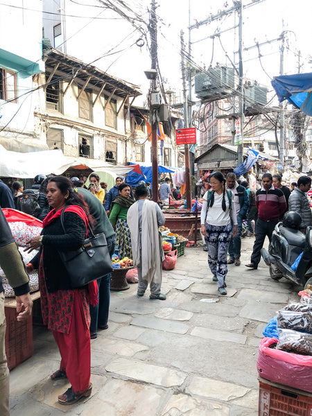 Staying in Thamel on Jano's Bazaar shopping expedition