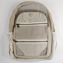 Load image into Gallery viewer, Hemp and Cotton Backpack