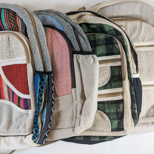 Hemp and Cotton Backpack