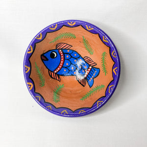 Hand-painted terracotta bowls - medium
