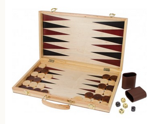 schaakspel en backgammon