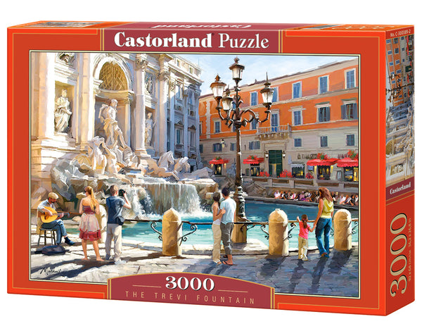 puzzel in karton 3000 stuks the trevi fountain
