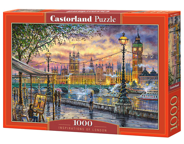 Puzzel in karton 1000 stuks inspirations of london