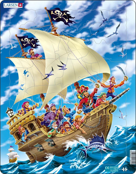 maxi puzzel piraten inval 30 st- maxi puzzle raid des pirates 30pc