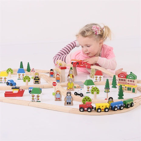 treinset : Town and country train set
