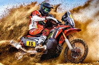 Puzzel in karton 300 stuks Dirt bike power