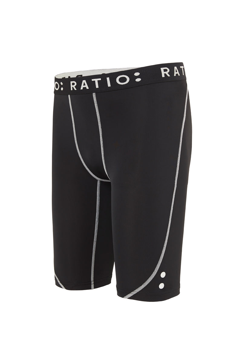 Youth Compression Short - Black