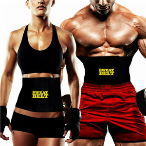Women Men sweat belt