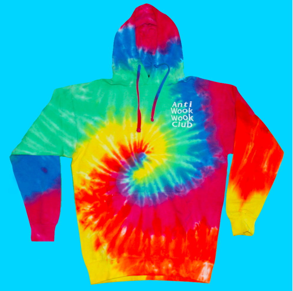 *LIMITED EDITION* Anti Wook Wook Club Tie Dye Hoodie