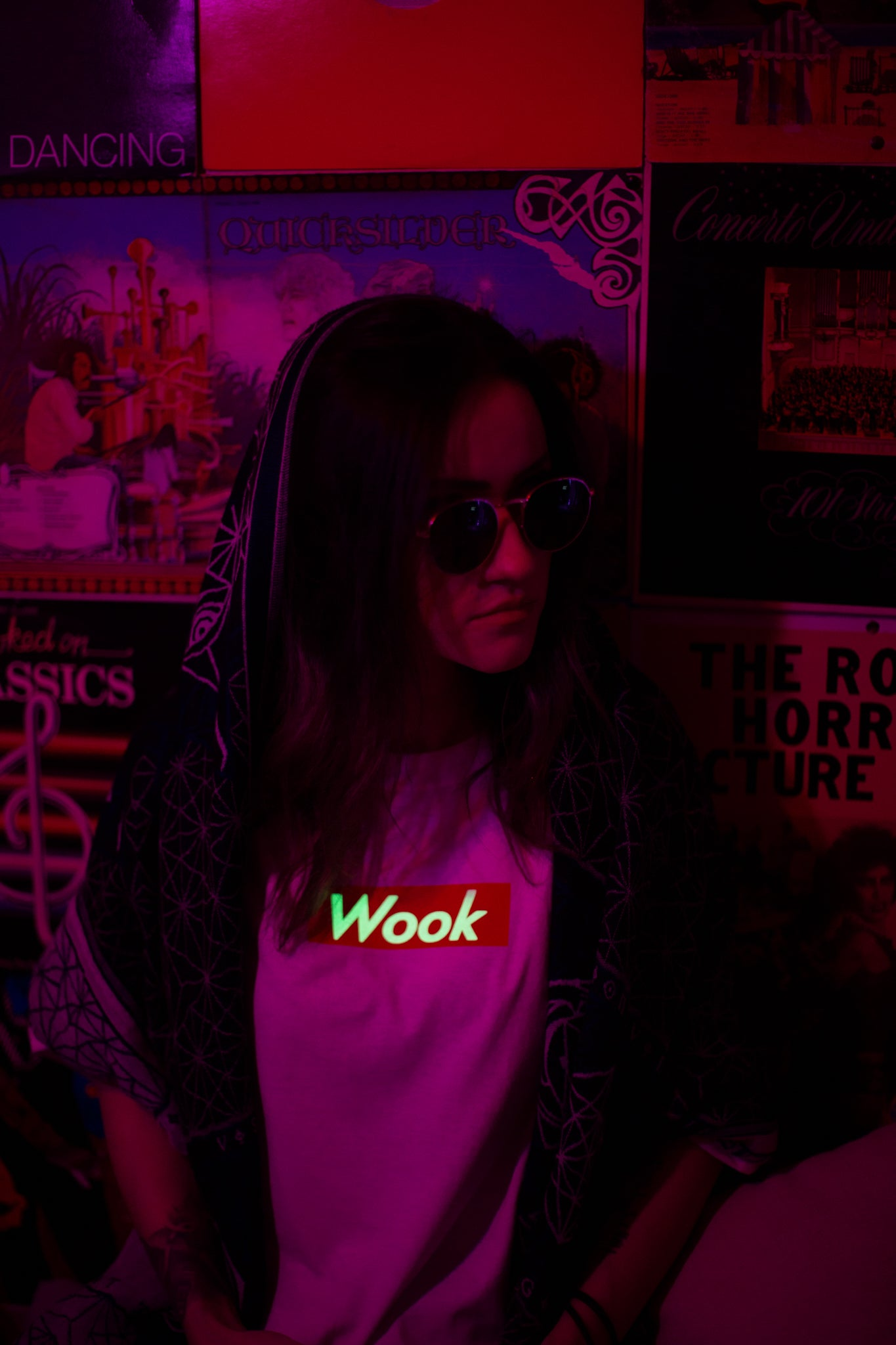 "Glow In The Dark ""Wook"" Shirts"