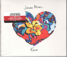 Load image into Gallery viewer, Jason Mraz : Know. (CD, Album)