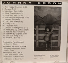 Load image into Gallery viewer, Johnny Edson : Johnny Edson (CD)