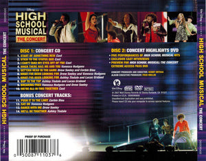 The High School Musical Cast : High School Musical: The Concert (CD, Album + DVD-V, NTSC)