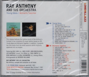 Ray Anthony & His Orchestra : Young Ideas /  Moments Together (CD, Album, RE)