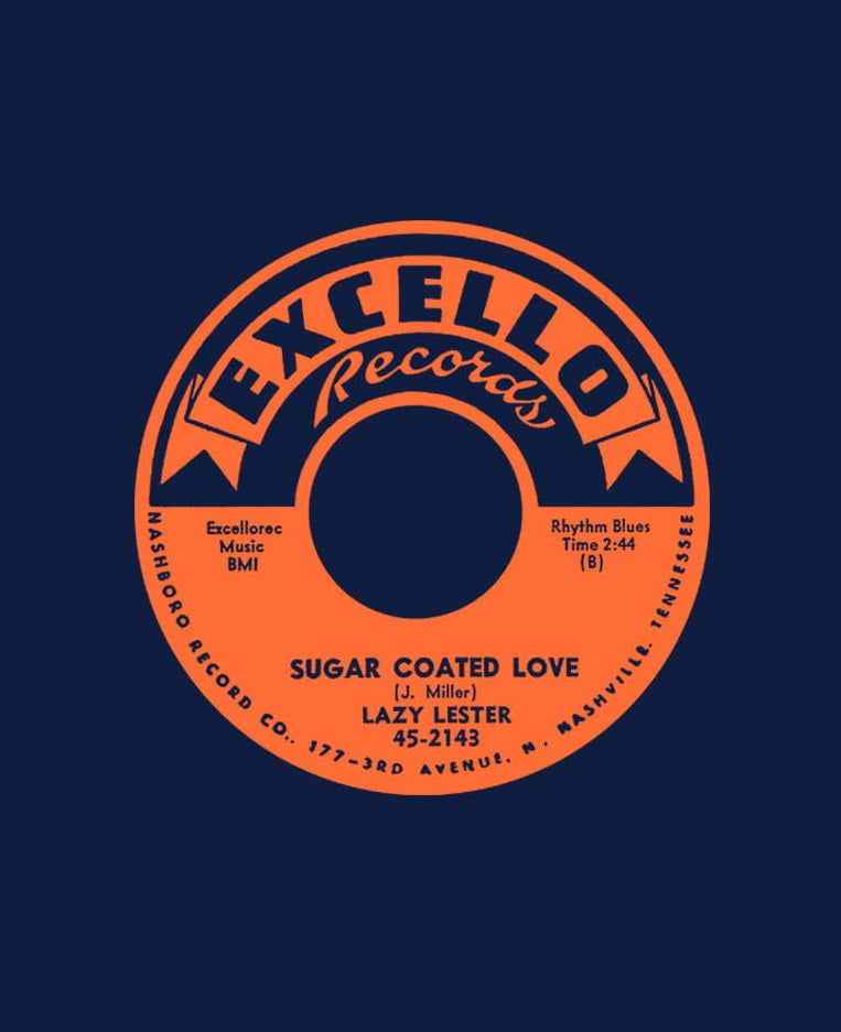 Lazy Lester Sugar Coated Love, Navy, 2xl - T-shirt