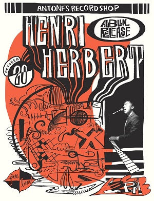 Henri Herbert - Event Poster By Billie Buck - Poster