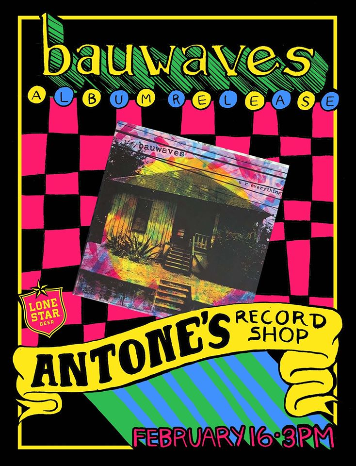 Bauwaves - Billie Buck Designed In-store Event Poster - Poster