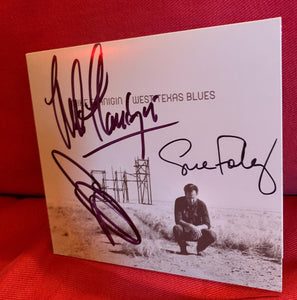 Mike Flanigin - West Texas Blues Autographed Cd - CD