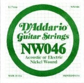 Single Guitar String - D'addario Nw046 - Music Equipment
